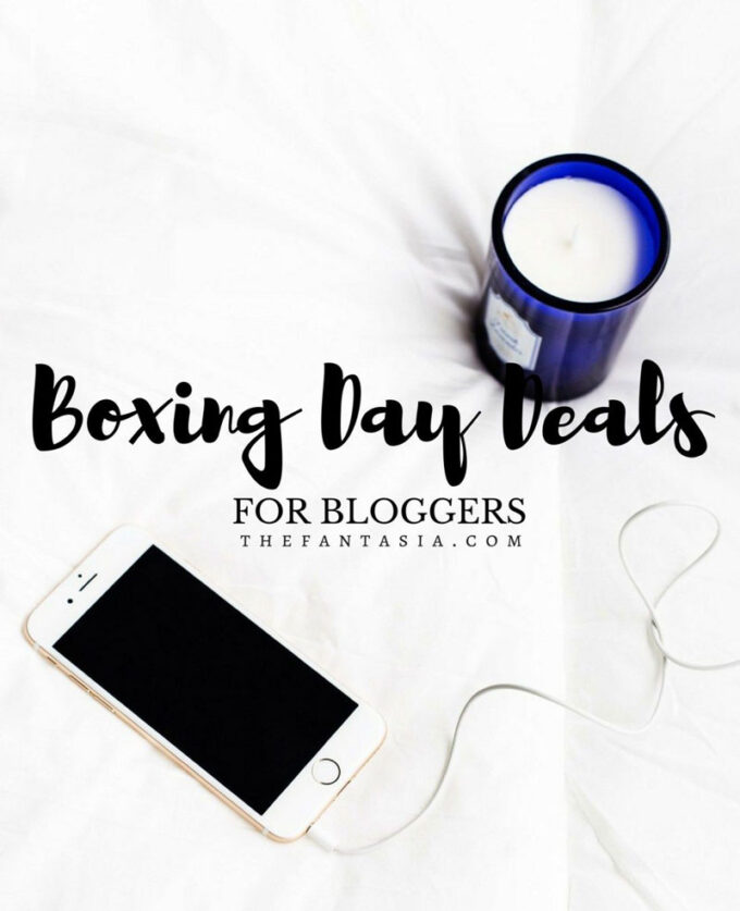 Boxing Day Deals for Bloggers 2016