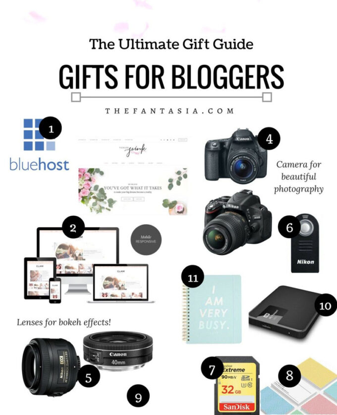 Gift Guide | Gifts For Bloggers In Your Life – 2016