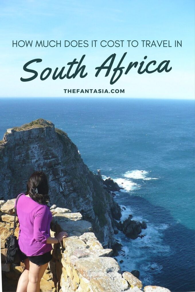 """I always get asked is """"How much does it cost to travel in South Africa? It sounds expensive!"""" In this post, I detailed my trip costs from the last 2 years and how doing a custom safari trip, a week-long surf camp and sightseeing/eating to my heart's content costed way less than people think (in Canadian dollars too!)"""