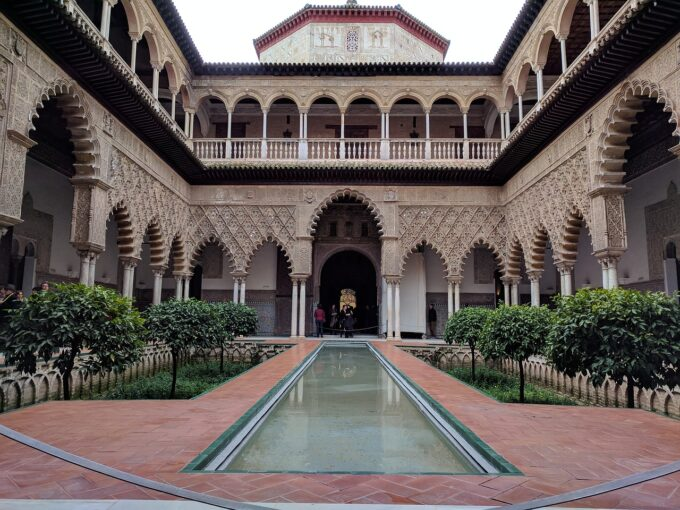 Real Alcazar in Seville Spain is a quick day trip from Faro in the Algarve Region, South of Portugal!
