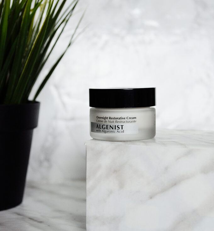 Algenist Overnight Restorative Cream | Review.