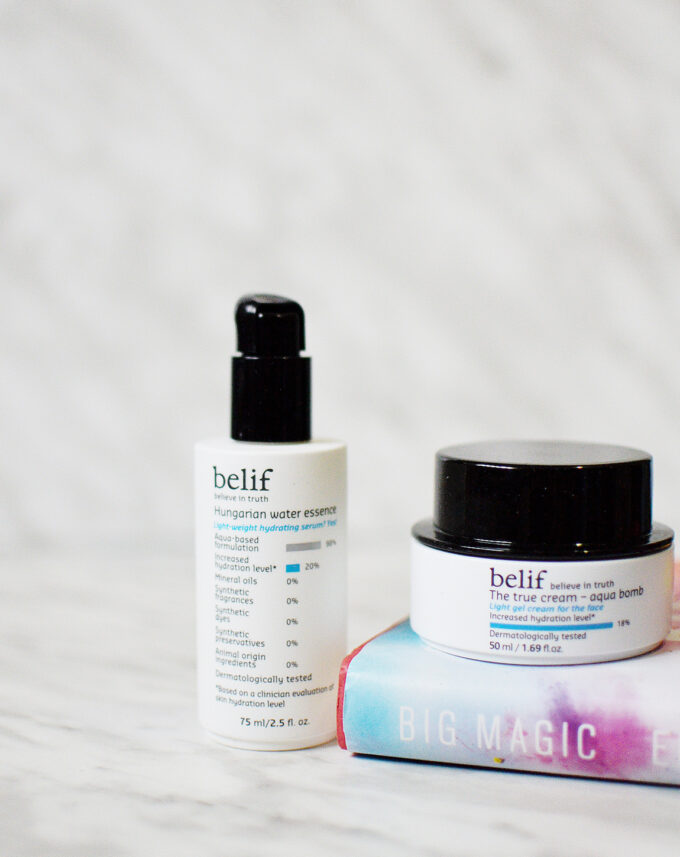 belif | Diving into the world of K-Beauty.