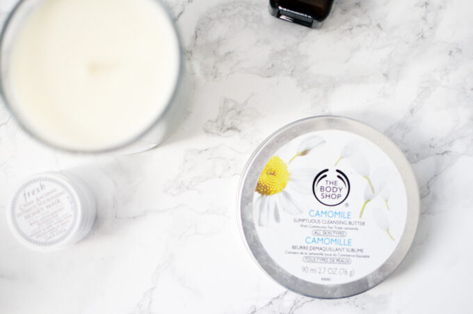 Body Shop Camomile Cleansing Balm.