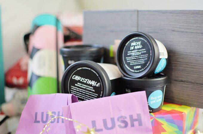 Boxing Day Haul 2017 - Lush Cosmetics