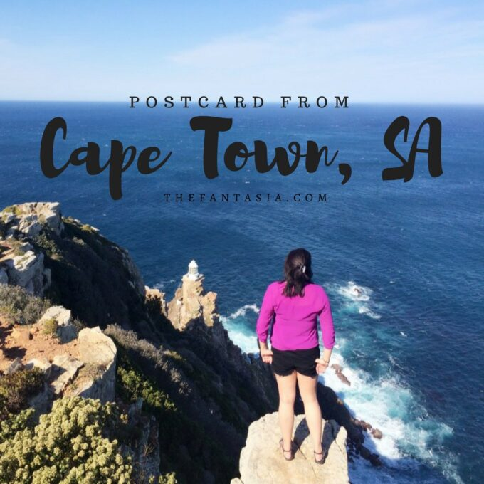Postcard From | Cape Peninsula, Cape Town 2015.