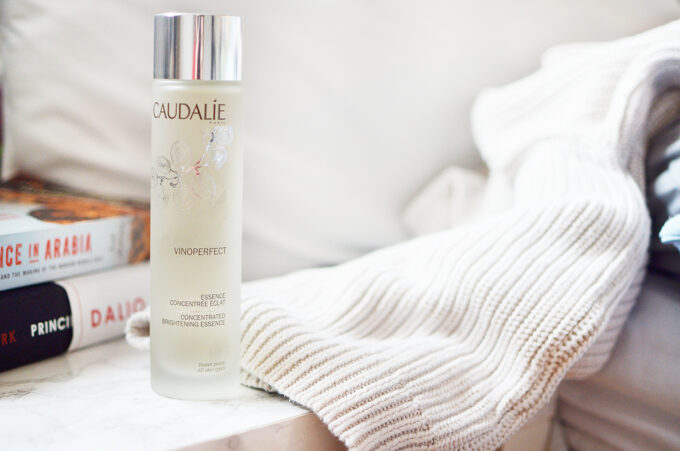 Caudalie Vinoperfect Concentrated Brightening Essence.
