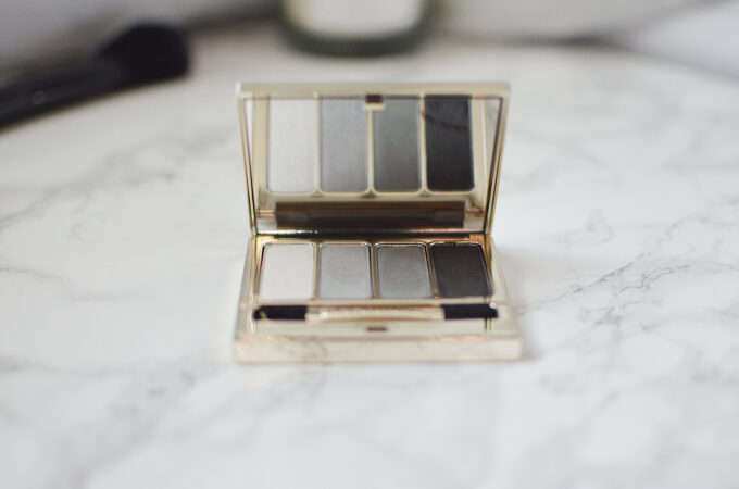 Clarins 4-Colour Eyeshadow Palette Review.
