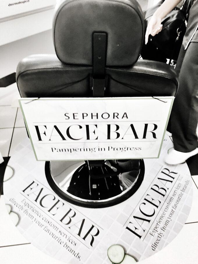 Sephora x Dermalogica ProSkin 30 Facebar Experience.