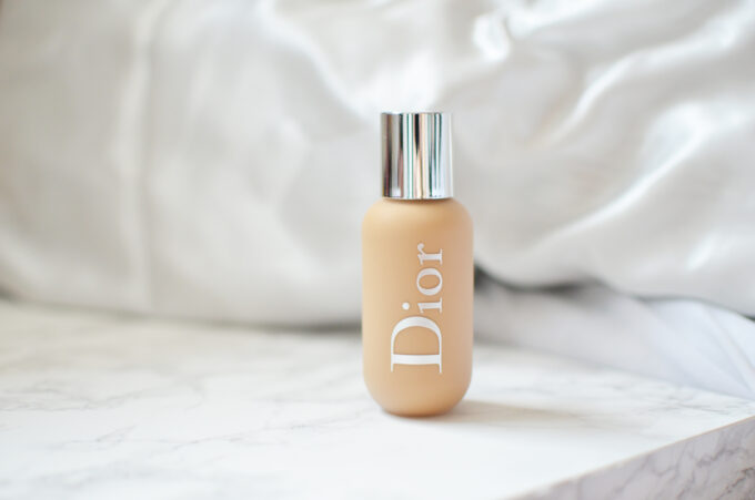 Dior Backstage Face & Body Foundation Review.