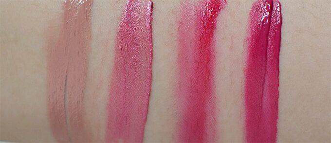 Dior Rouge Dior Liquid Lip Stain in #221 Chic Matte (Sephora-exclusive) // #375 Spicy Meta // #788 Frenetic Satin // #797 Sauvage Matte