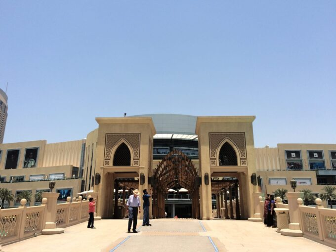 Visiting the World's Largest Malls in Dubai.