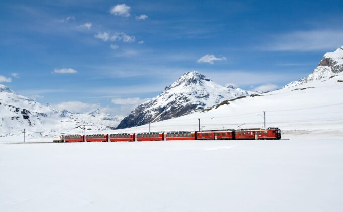 Overnight train journeys across Europe is budget-friendly and affords incredible views like this!