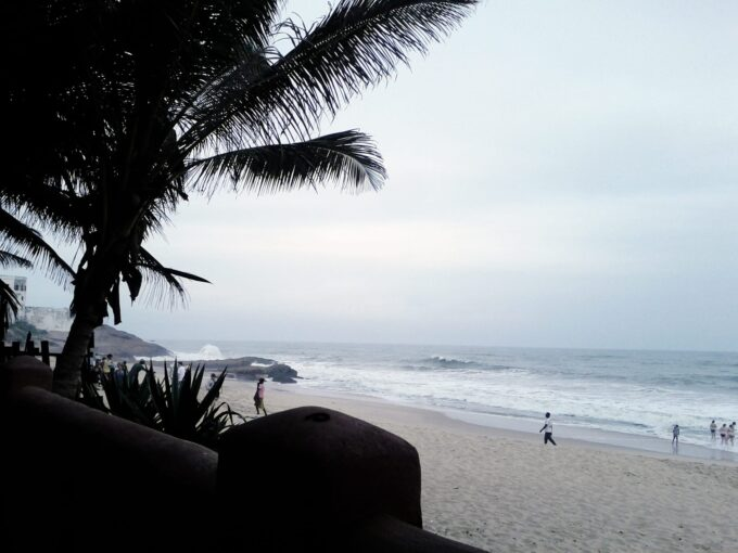 Day Trip to Busua Beach in Ghana.