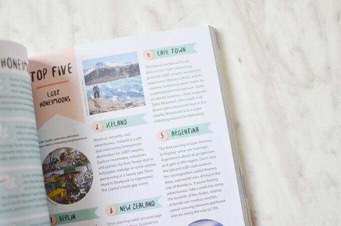 Lonely Planet Honeymoon Handbook + Giveaway.