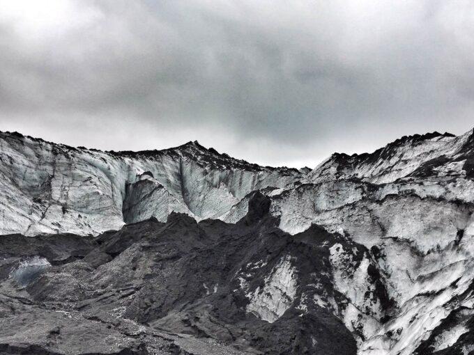 Visiting Iceland Glacier