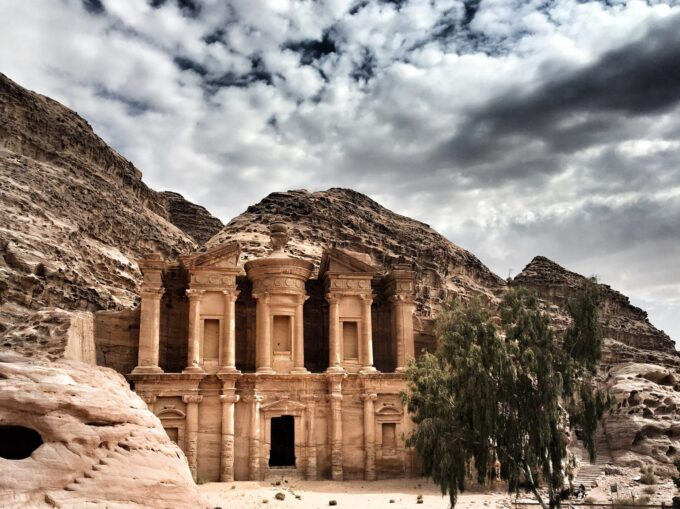 "The Monastery is worth every hike | Petra - there's something quite still so mystical about this ancient city. Once ""lost"" to the world, it was rediscovered by Westerners in late 1800s which is now Jordan's major tourist attraction site. What to do there beyond the Treasury? Here's a list of 10 things to do in Petra that goes beyond the iconic Treasury!"