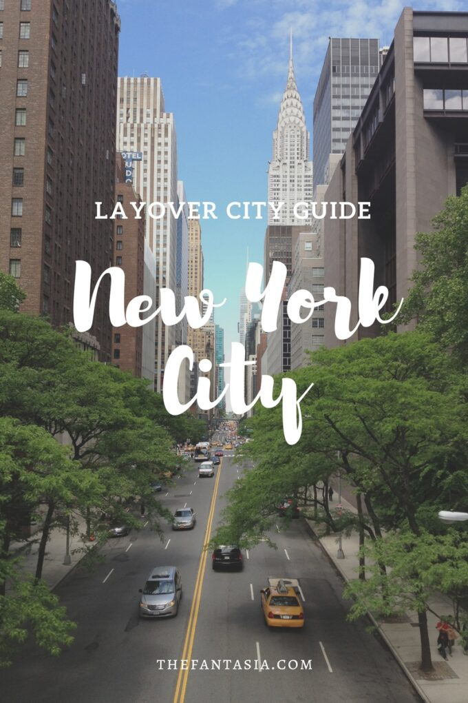 I often have flight itineraries that involve a really long or short layovers. There are times when I would deliberately book longer layovers in cities that would be very expensive to fly to / visit on its own, or a city that I feel I could manage in one quick visit. New York is one of my favourite layover cities!