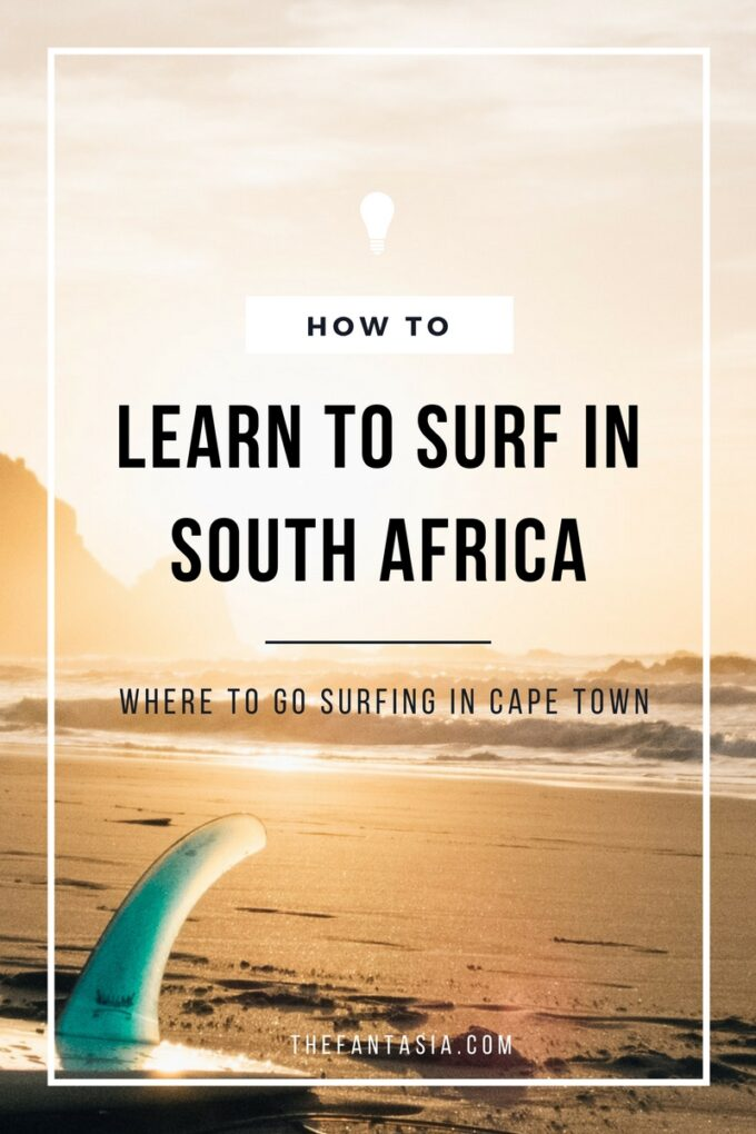 Have you ever wanted to learn to surf? Surfing in Cape Town is practically a religion so it's a must-do, even if you're a total beginner! The waves are gentle, the instructors are experienced, and the classes are so much fun! Surfing in Cape Town should be on your list so let me tell you more about it!