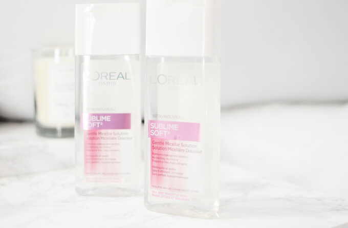 L'Oreal Sublime Micellar Solution | Review.
