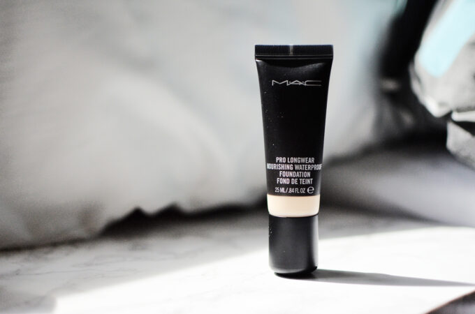 MAC Pro Longwear Nourishing Waterproof Foundation.