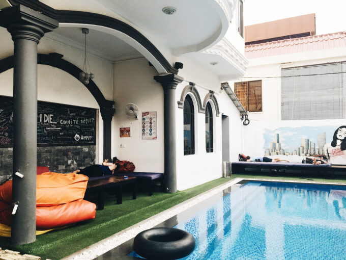 Mad Monkey Hostel Phnom Penh | My patience and fear of creepy crawlies were immediately tested upon arriving in Cambodia but I guess the view was worth it?