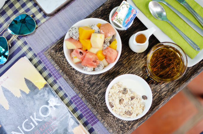 Maison557 Villa Suite | Breakfast spread for temple hunters (and instagram) by the pool!