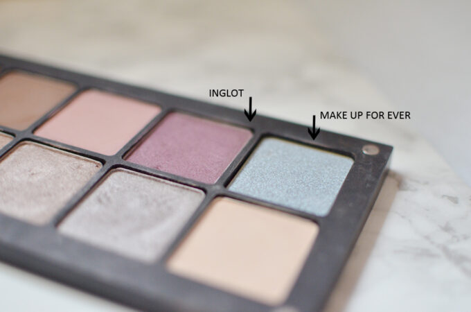 Make Up For Ever Artist Color Shadow.