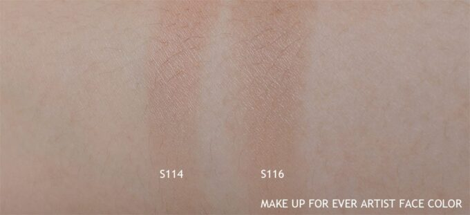 Make Up For Ever Artist Face Color.