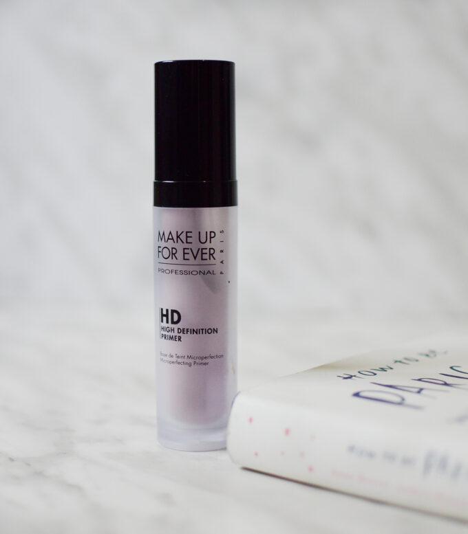 Make Up For Ever Hd Primer Review