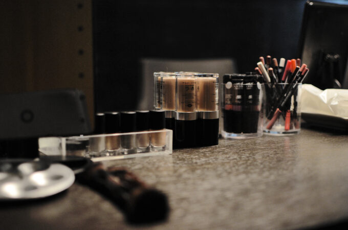 Backstage Workshop with Make Up For Ever.