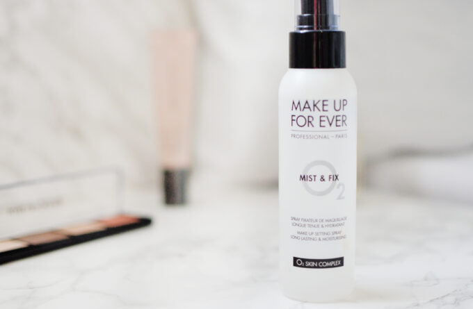 Make Up For Ever Mist & Fix Setting Spray Review.