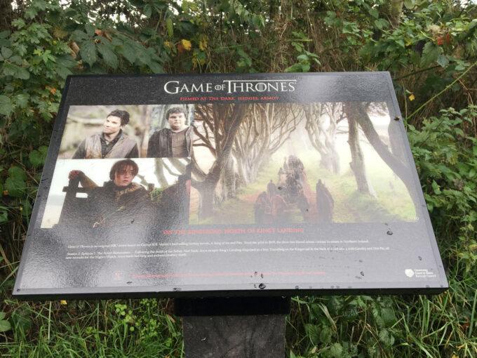 Game of Thrones Tour in Northern Ireland.
