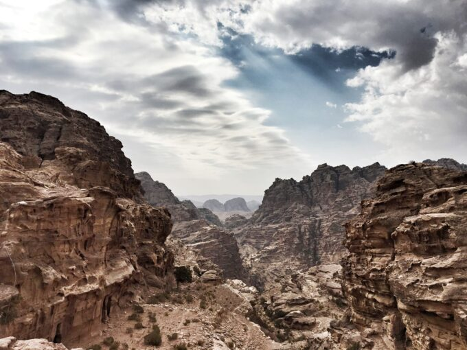 Discover the best view of Petra by following the locals' guides on discovering a unique viewpoint that shows you this!