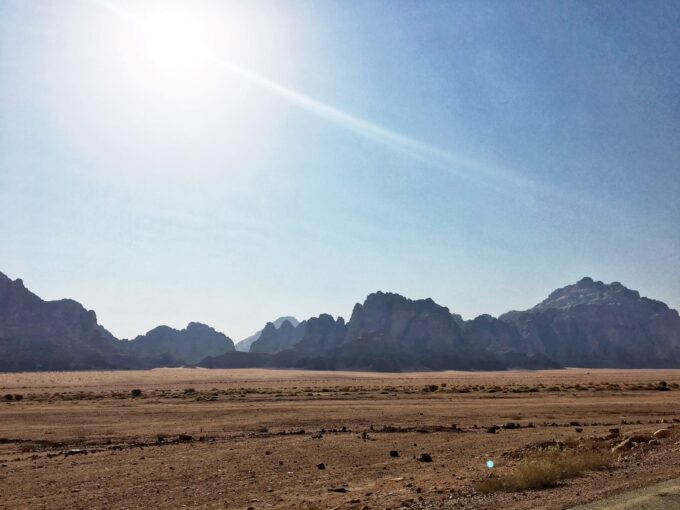 Overnight in Wadi Rum | Sleeping in the Desert - arriving at Wadi Rum