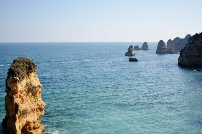 Beautiful Algarve region and the beaches in Lagos are just stunning!