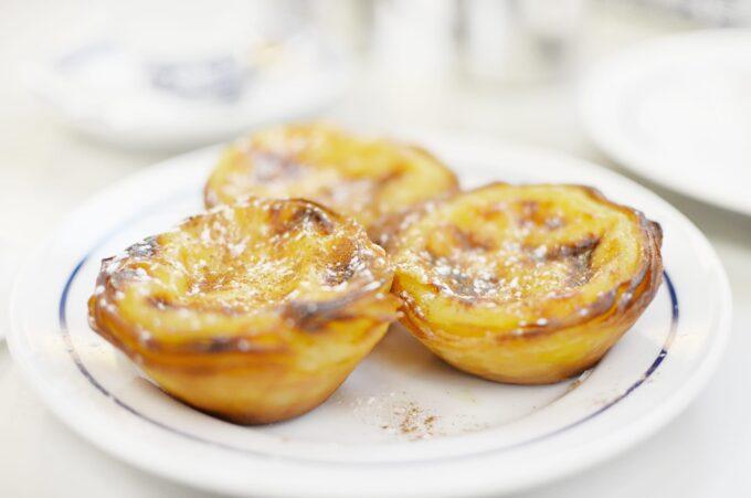 Enjoyed some incredible Pasteis de Nata (Portuguese tarts) from the world famous Pasteis de Belem