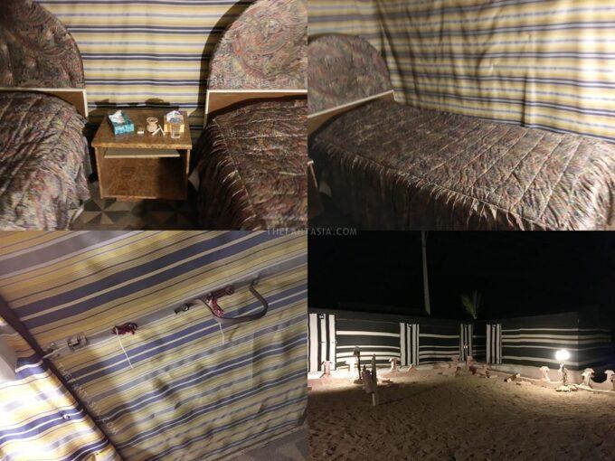 Seven Wonders Bedouin Camp - The Tent/Beds
