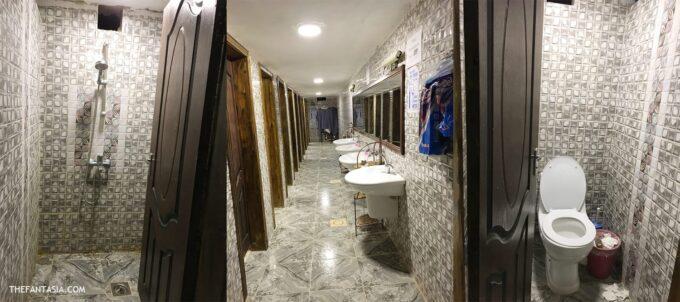 Seven Wonders Bedouin Camp - The Women Bathroom area
