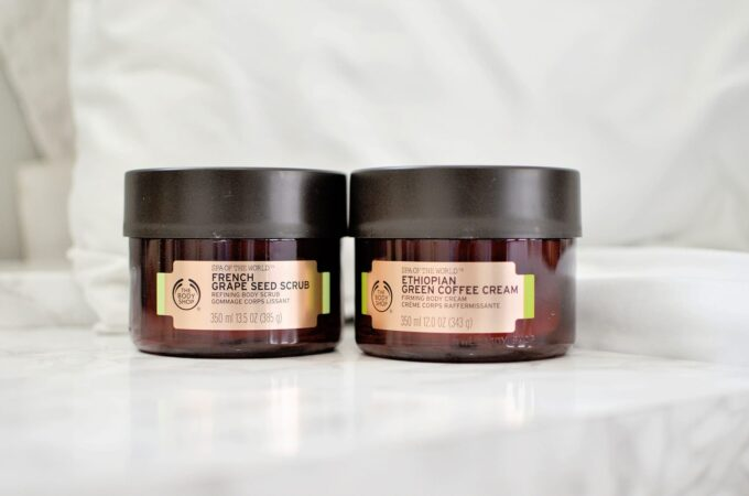 The Body Shop Spa of the World Firming Ritual & Review.
