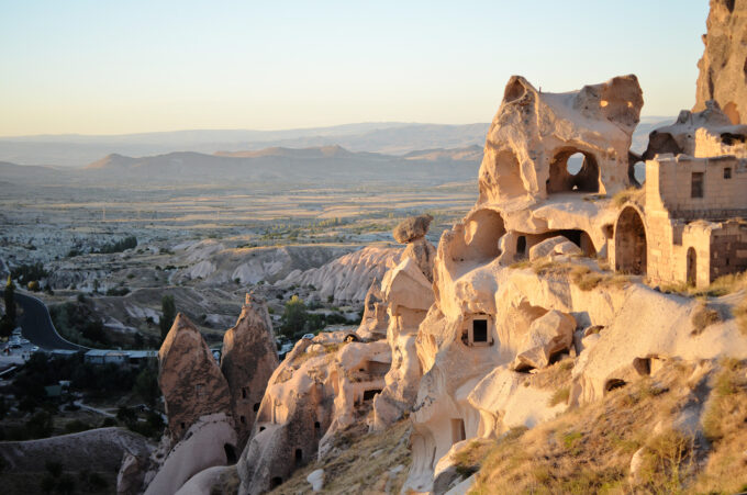 Hiking at Uchisar Castle and sunset views!