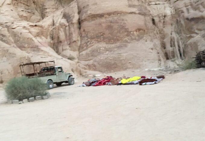Sleeping under the stars in Wadi Rum, Jordan with Bedouin Directions