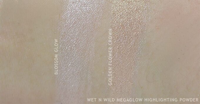 Wet n Wild MegaGlo Highlighting Powder Blossom Glow // Golden Flower Crown