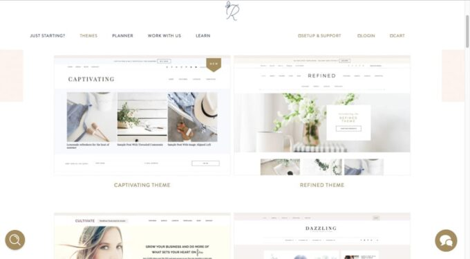 Behind the Blog | Where to Get Premium Feminine Blog Themes.