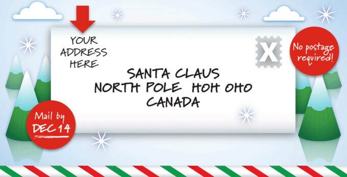 Canada Post Santa Claus Letter