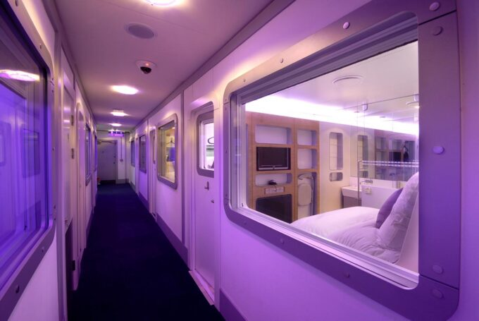 Yotel Cabin Hotel Review, Pictures and Thoughts
