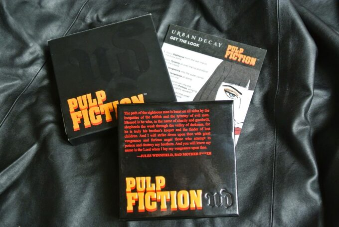 The Urban Decay Pulp Fiction Eyeshadow Palette