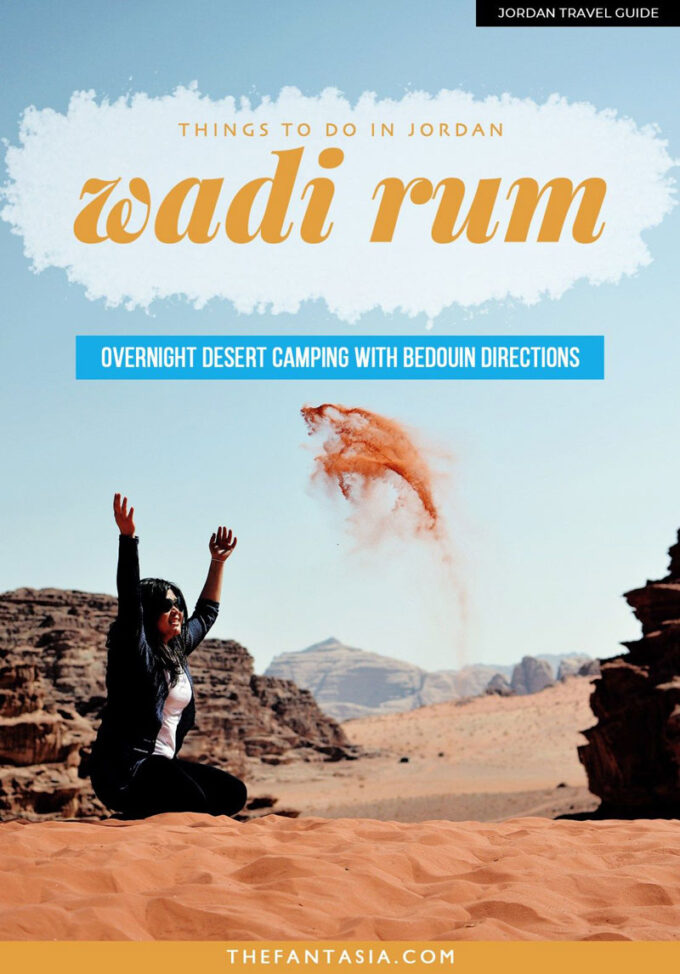 What You Need to Know to Camp Overnight in Wadi Rum