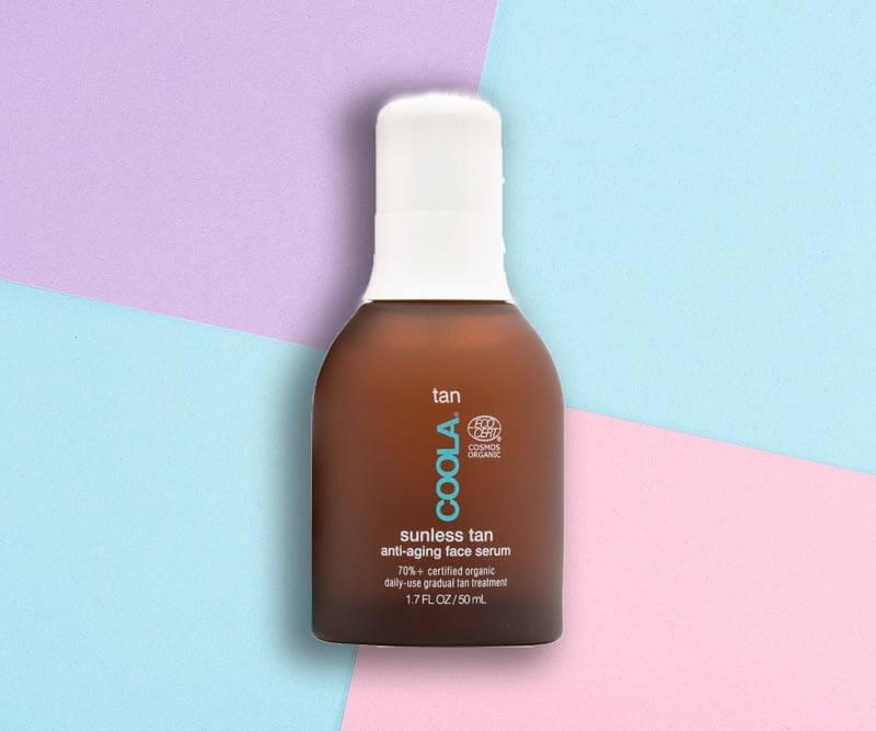 A Luxurious Anti-Aging Self-Tanner: Coola Organic Sunless Tan Anti-Aging Face Serum