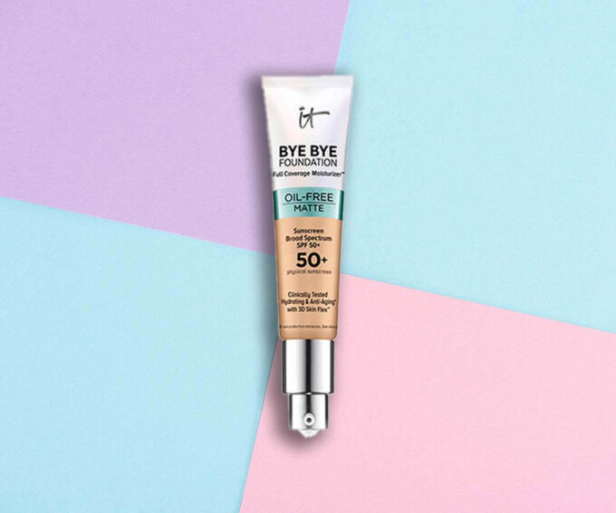 "Best for Dry Skin: ""Bye Bye Foundation Full Coverage Moisturizer with SPF 50+"" from It Cosmetics"