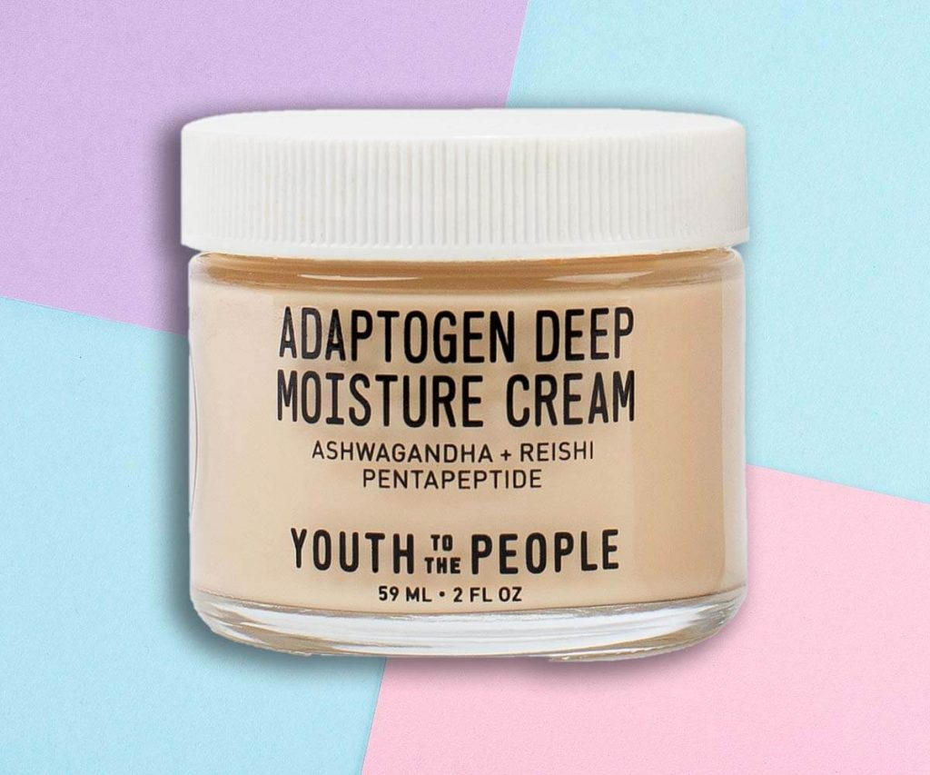Best for Dry Skin: Youth To The People: Adaptogen Deep Moisture Cream with Ashwagandha + Reishi